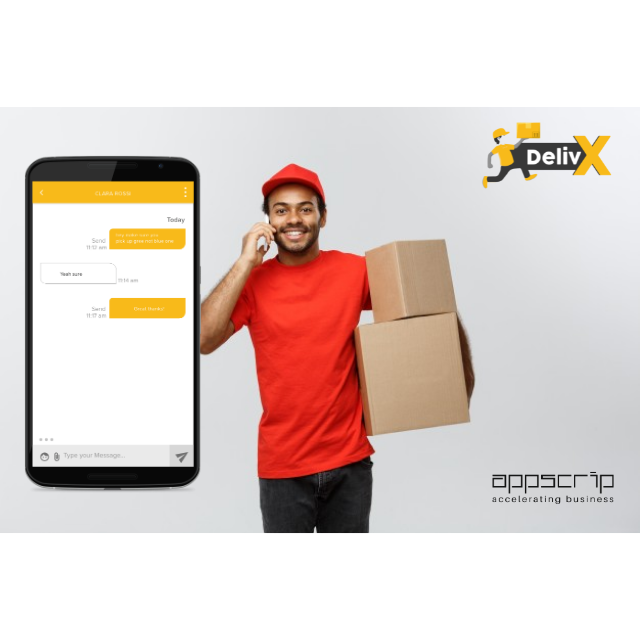 🚴DelivX | Appscrip | Business software, Delivery app, Tracking software