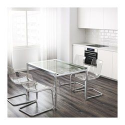 Ikea Us Furniture And Home Furnishings Extendable Glass Dining Table Modern Glass Dining Table Glass Dining Table