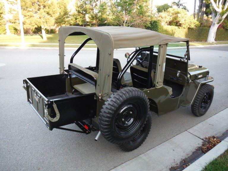 1947 Willys Jeep Cj2a Wheels Jeep Jeep Pickup Truck Camping