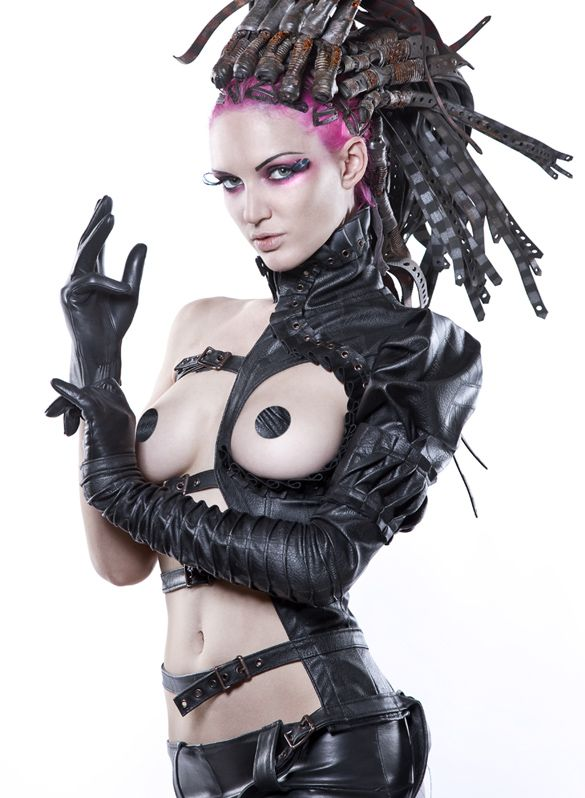 Fantasy punk fetish wear