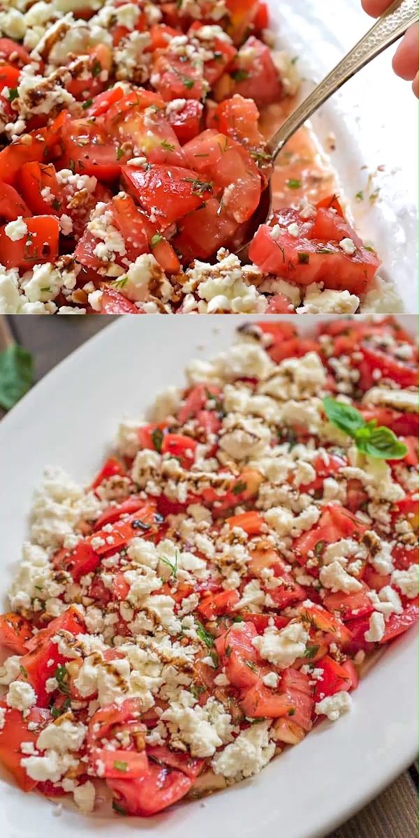 Photo of Tomato and Feta Salad