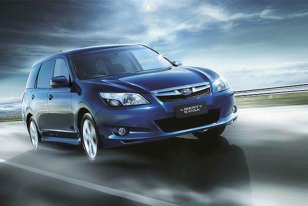 New Car Review Subaru Liberty Exiga Premium Subaru Car Japanese Domestic Market