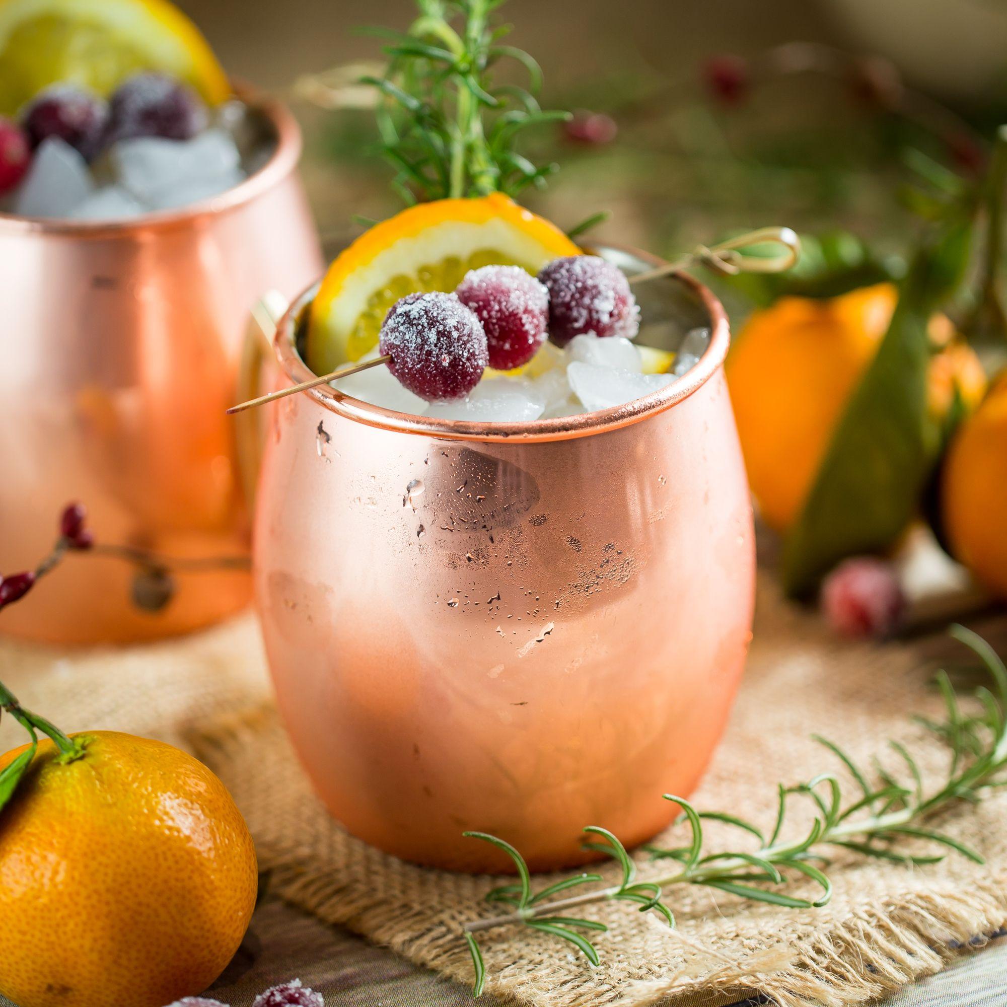 Cranberry Vodka, Holiday Drinks