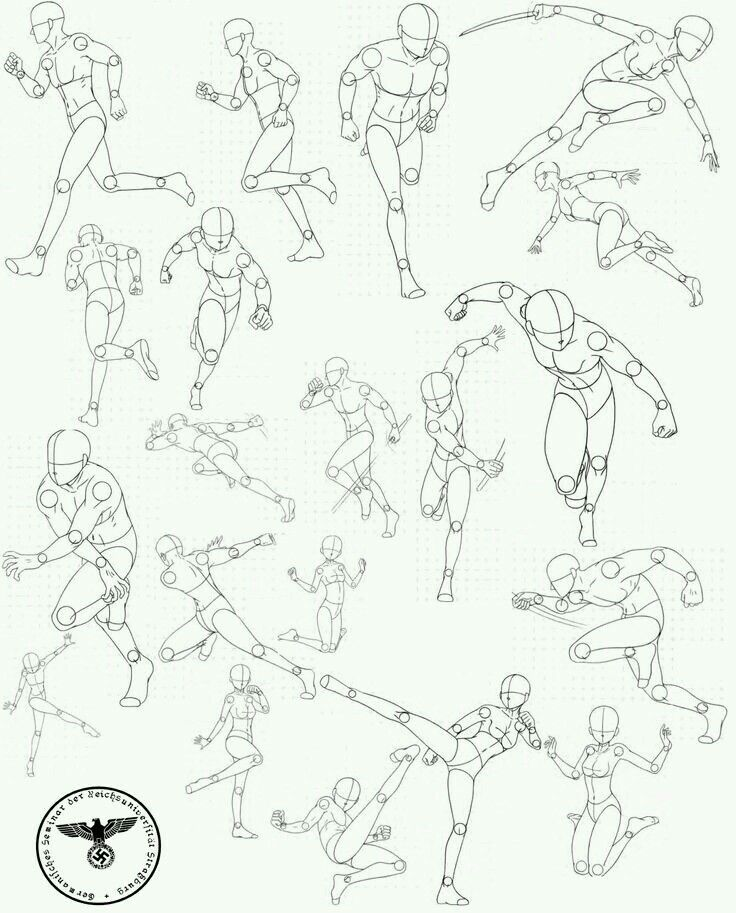 Movement how to draw pinterest drawings drawing for Body movement drawing