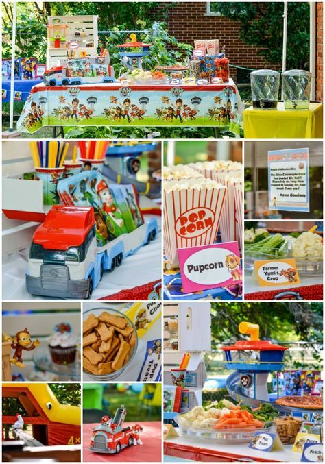 Easy Paw Patrol Party Ideas for the Best Paw Patrol Birthday Party Ever! - Paw patrol birthday party, Paw patrol birthday, Paw patrol party, Paw patrol party food, Patrol party, 3rd birthday party for boy - Planning a Paw Patrol birthday party for your child  If so, you'll want to save these easy party ideas, tutorials, and printables for their big day!