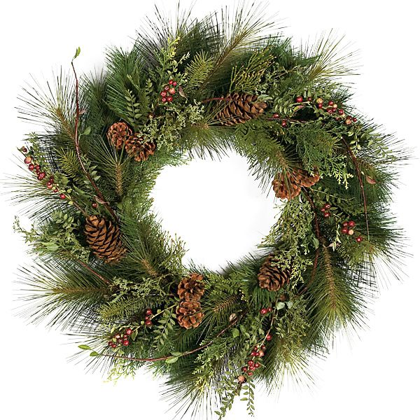 30 Inch Sugar Pine Wreath Pvc Christmas Tree Pinterest
