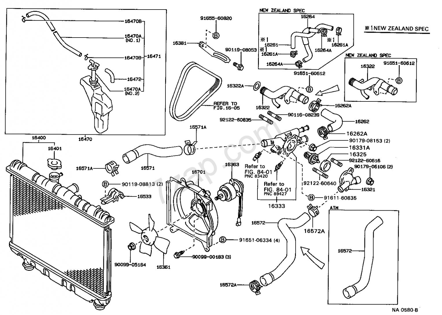 Toyota Corolla Big Body 5e Engine Diagram