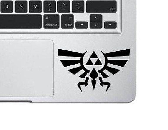 Legend of zelda decal laptop sticker triforce vinyl decal laptop decal macbook