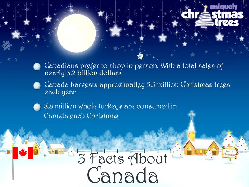 Christmas Facts From Canada Christmas Trivia Facts