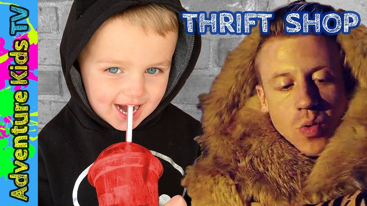 Adventure Kids TV Go Thrift Shopping Just Like Macklemore