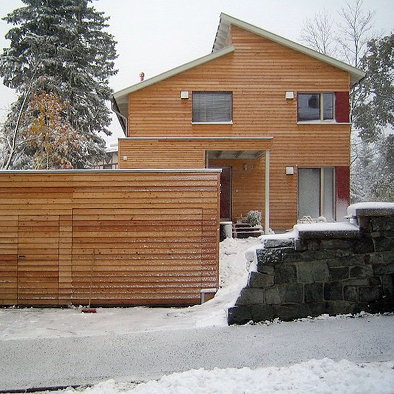 Holzhaus, Modernes Holzhaus