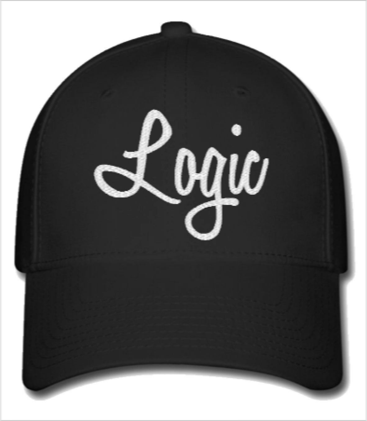 7427782d198 logic embroidery hat - Flexfit Baseball Cap