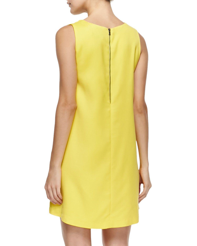 Amber Loose Sleeveless V-Neck Dress