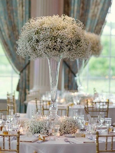 Velthuizen S Vault Wedding Flowers Babys Breath Roses