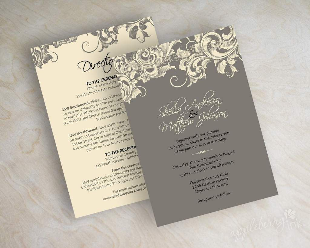 Zazzle Wedding Invitations.Zazzle Wedding Invitations Samples Wedding 3 Ivory Wedding