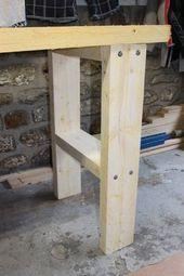 DIY DIY: je werkbank maken in Bastaing (stap 2, het ...