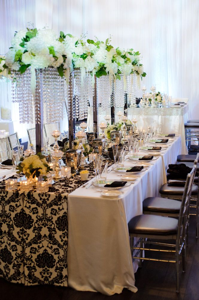 White and Black Wedding in Toronto Photographed by