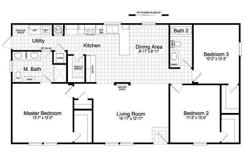 Fleetwood Double Wide Floor Plans Inspirational The Cortez Floor Plans Mobile Home Floor Plans Manufactured Homes Floor Plans