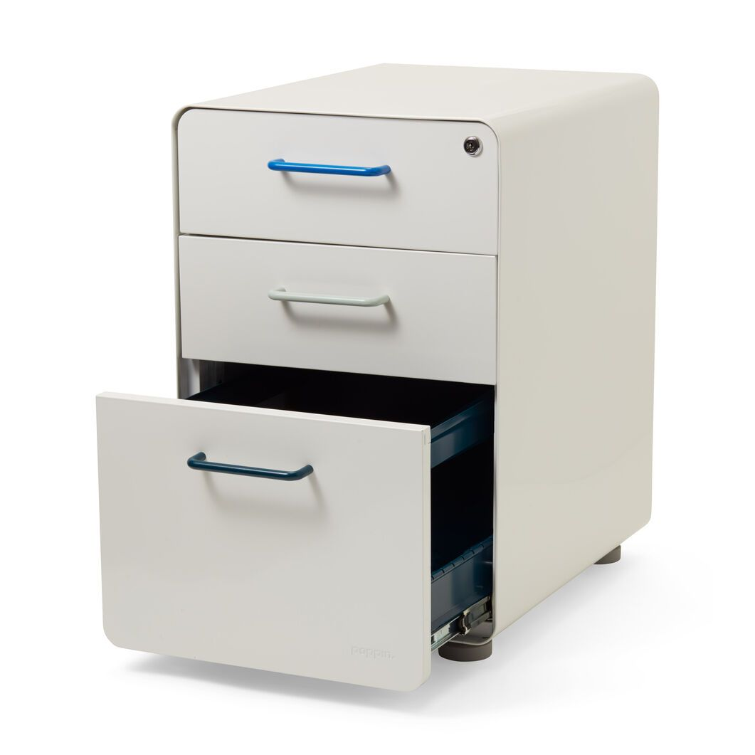 Poppin Stow 3 Drawer File Cabinet Filing Cabinet 3 Drawer File Cabinet Poppin