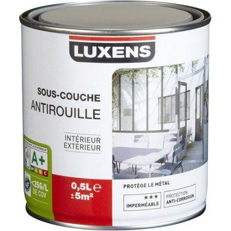 Sous Couche Fer Antirouille Luxens 05 L Anti Rouille