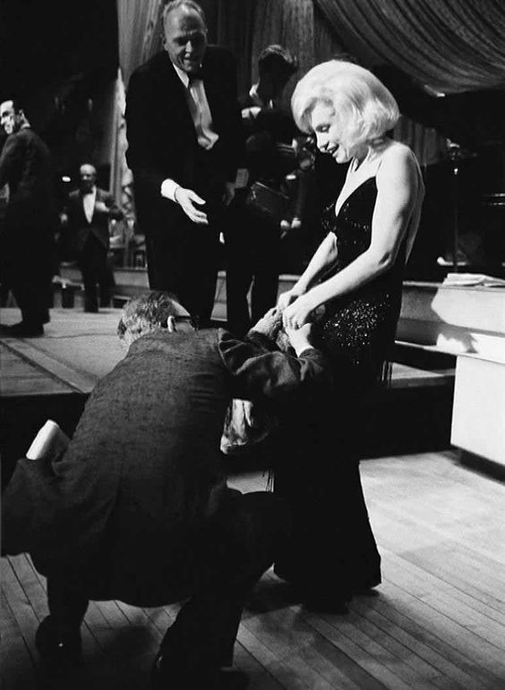Marilyn at the Actor's Studio Benefit at the Roseland Dance Hall, New York, March 13th 1961.