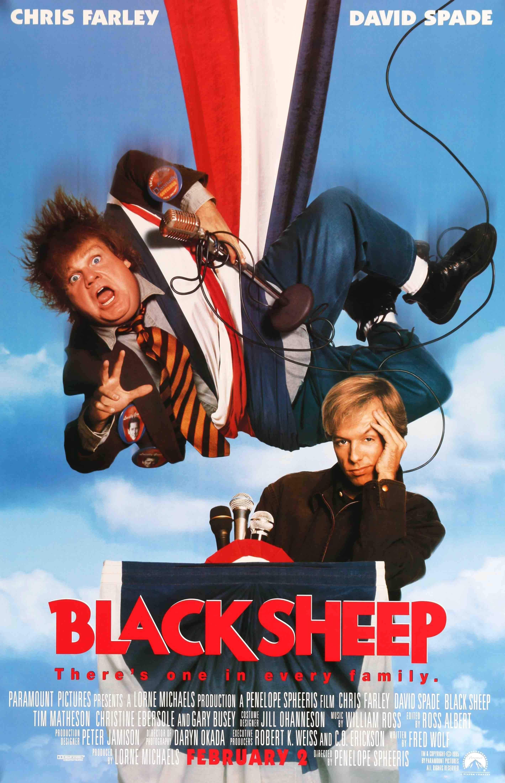 Black Sheep (1995) in 2019 | Movie posters/posters | Bête