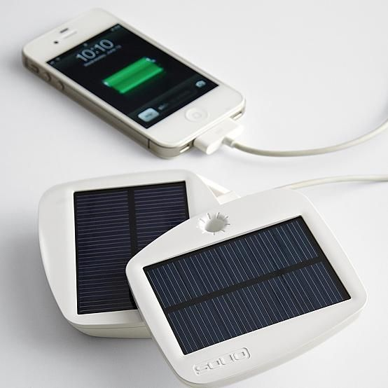 SOLIO™ bolt solar charger + battery Science/Technology Pinterest