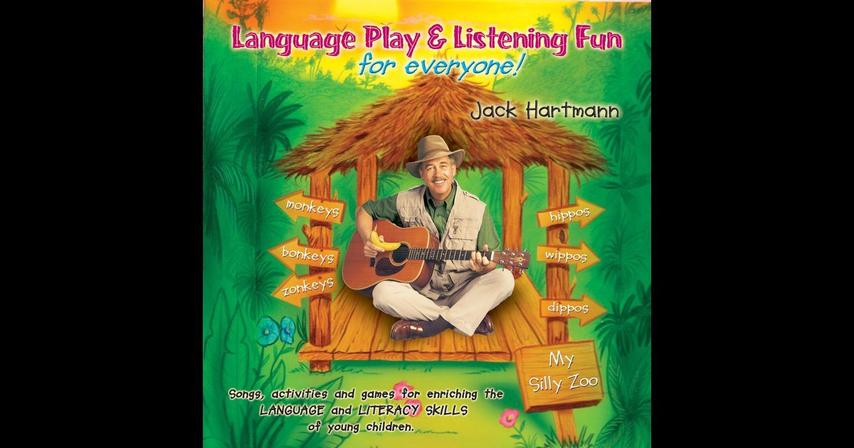 "Jack Hartmann | Language Play and Listening Fun for Everyone! CD: ""Hands Up For Letter Sounds"""