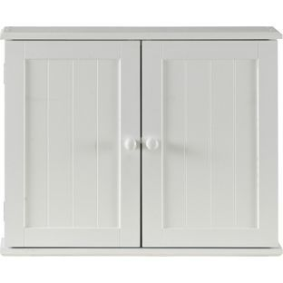 Buy Tongue and Groove 2 Door Wooden Bathroom Cabinet   White at Argos co. Buy Tongue and Groove 2 Door Wooden Bathroom Cabinet   White at