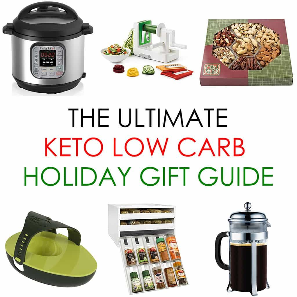 Holiday Gift Guide 2017 with 50+ Keto Low Carb Gift Ideas | Low carb holiday, Low carb gift ...