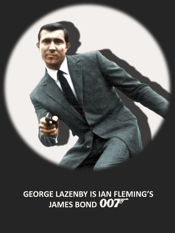 Bond Art Collage Georgelazenby Jamesbond 007 James Bond