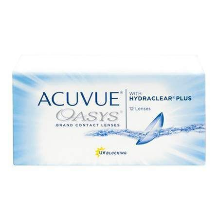 Acuvue Oasys 12 Pack Disposable Contact Lenses Types Of Contact