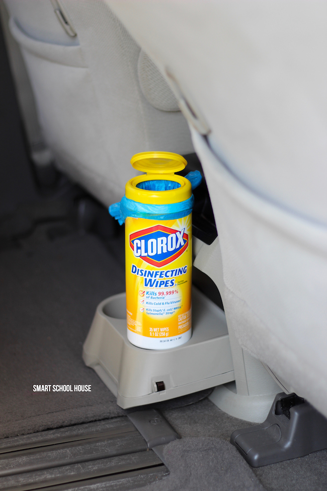 I love this trick! Clorox wipes container, Clorox wipes