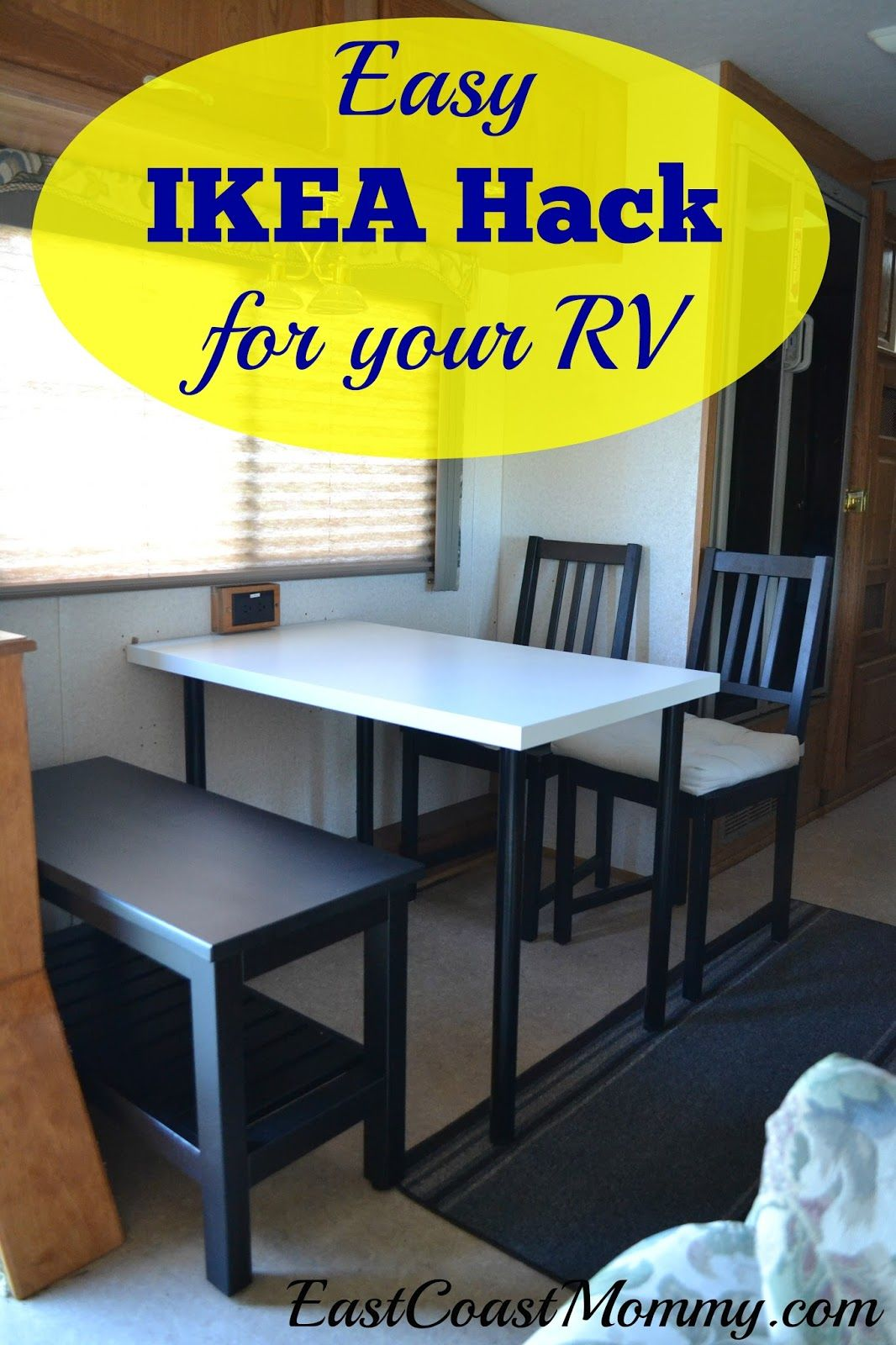 Inexpensive Basement Finishing Ideas Rv Ikea Hack | Camping/ Trailer | Remodeled Campers, Diy