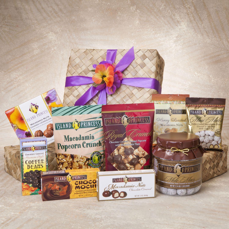 Deluxe selection of island princess gourmet chocolates