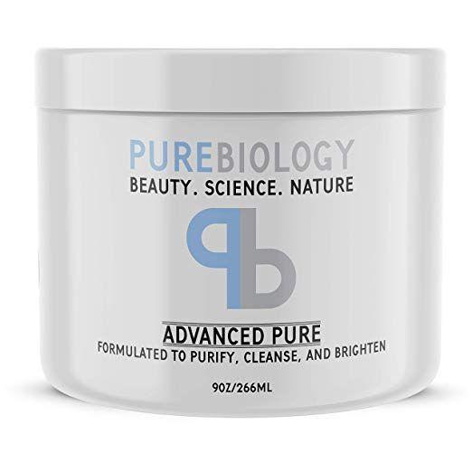 Amazon Com Pure Biology Face Mask W Bentonite Clay Kaolin Clay