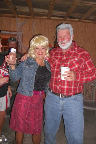 Halloween costume for couple--Dolly Parton and Kenny ...