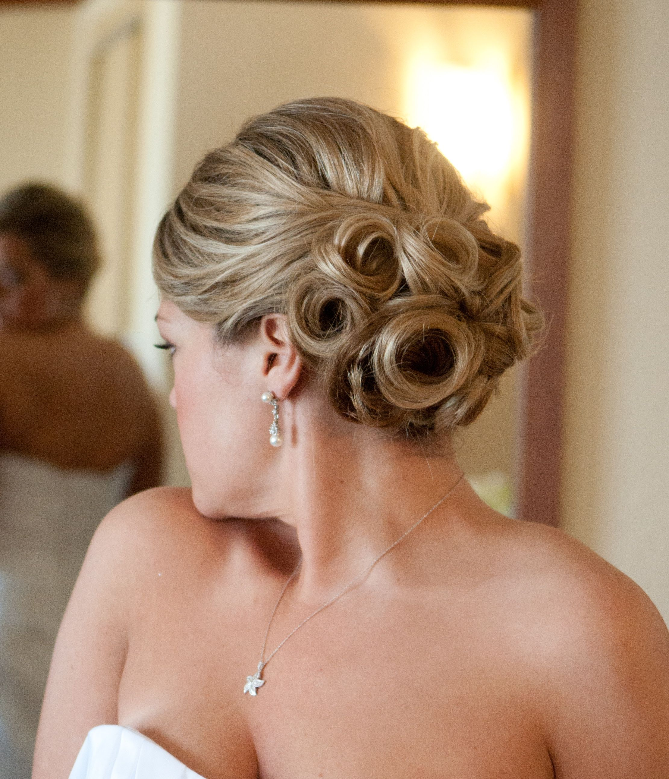 Rosettes Give Hair Styles Lots Of Definition And Design Perfect - Bun hairstyle definition