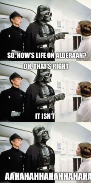 Best Ever Funny Star Wars Jokes Quotes Star Wars Jokes Star Wars Humor Star Wars Memes