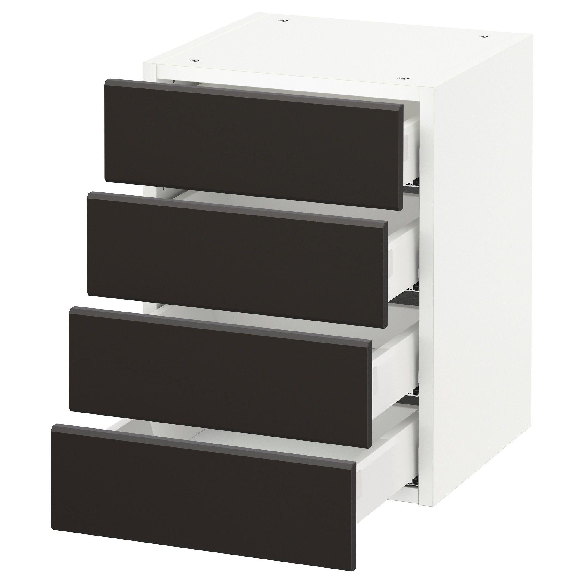 Best Ikea Sektion White Maximera Kungsbacka Anthracite Wall 400 x 300