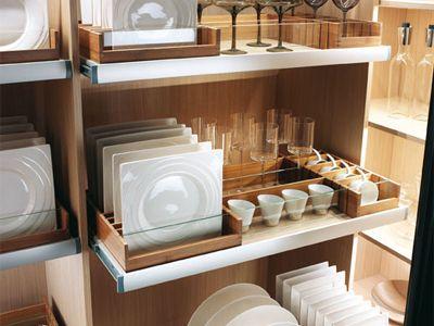 Opbergen Kleine Keuken : Mobalpa dresselier servies opbergen organizing almacenaje de