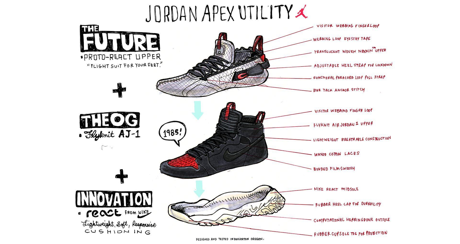 jordan apex utility for sale