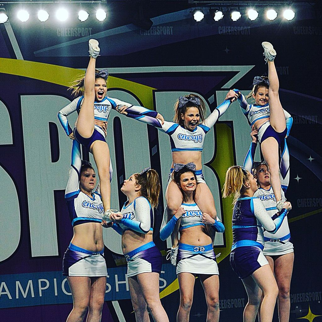 Creative Level 1 Pyramid Cheer Stunts Cheer Routines