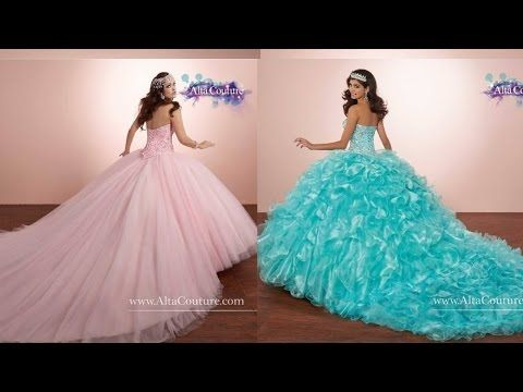 6e8f45406 Como hacer un vestido de quinceañera - YouTube