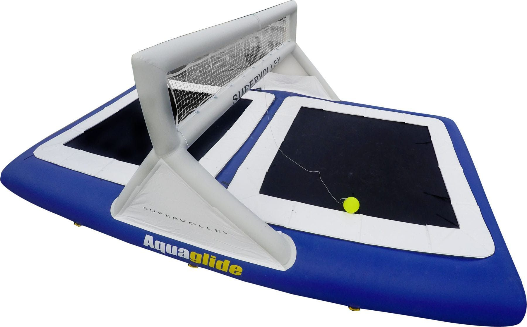 Aquaglide Floating Volleyball Field Supervolley 30' Water
