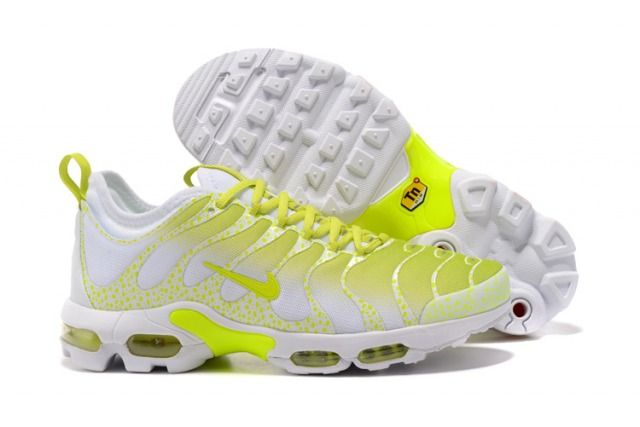85693d6cc8d89 Top Quality Nike Air Max Plus TN Ultra Sneakers White Lemon Yellow Men s  Running Shoes 881560 430