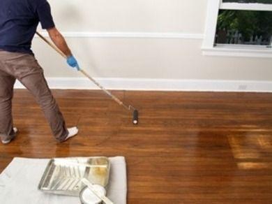 Applying Polyurethane How To Refinish Hardwood Floors Bob Vila