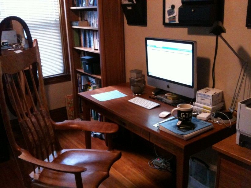 Office Workspace Minimalist Home Office Space Design Pictures