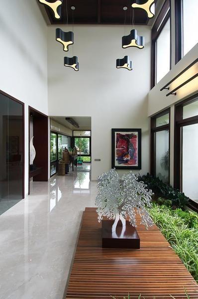 Foyer designs hiren patel architects also architecture indian rh pinterest