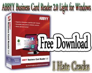 Get abbyy business card reader 20 light for windows free i hate get abbyy business card reader 20 light for windows free i hate cracks reheart Image collections